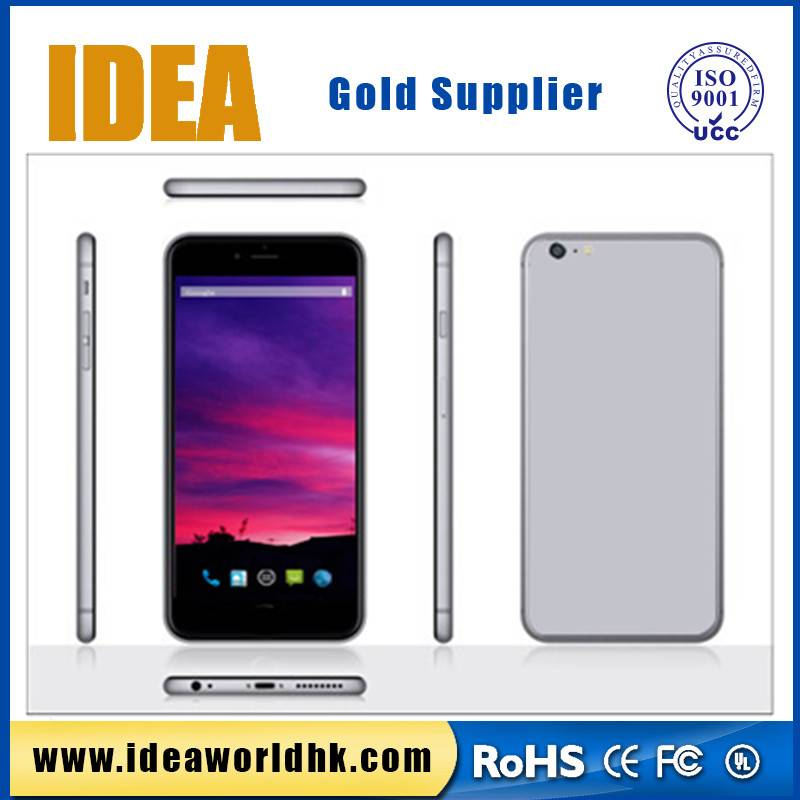 5.5 inch Quad Core IPS Screen long time battery mobile phone