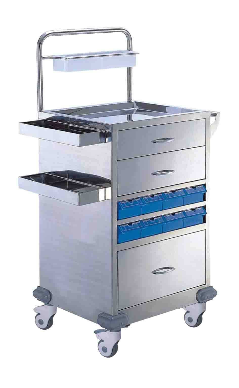 Medication Cart,UD cart,Critical Care Cart,Nursing,Emergency