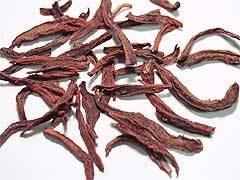 Dan-shen Extract:Tanshinones,Tanshinone 20%UV; 90%UV.