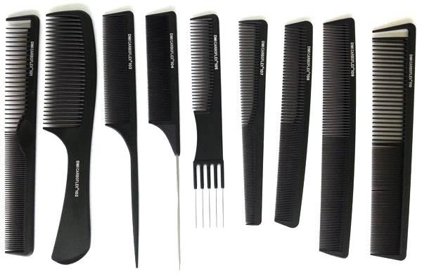 Professional Plastic Hairdresser Barber Comb