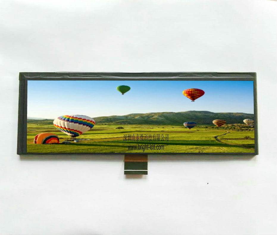 8.0inch TFT LCD with 1600X480 Resolution for Car Rearview Mirror