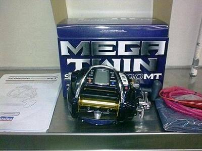 Daiwa Seaborg SB1000 MT Megatwin Power Assist Reel