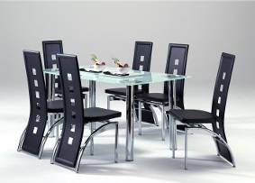 Brief style dining table
