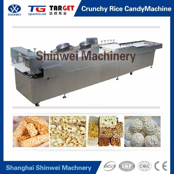 Chrunchy Rice Candy Cereal Bar Machine