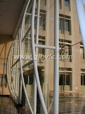 Supporting structure curtain wall