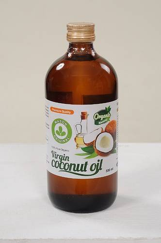 Mason Original Virgin Coconut Oil ( 500ml narrow neck glass jar )