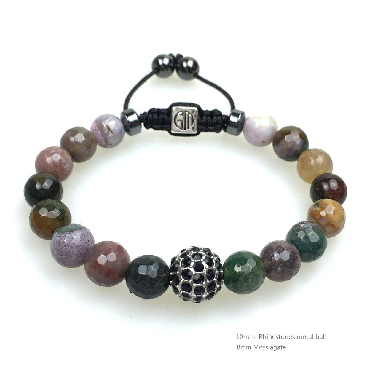 Customized DIY Making Natural Stone Bead Bracelet, 2016 new products fashion jewelry