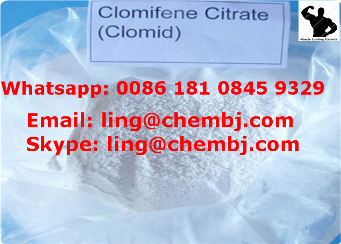 Clomiphene Citrate CAS 50-41-9 Clomid Anti-Estrogen Steroid for Female Infertility Treatment