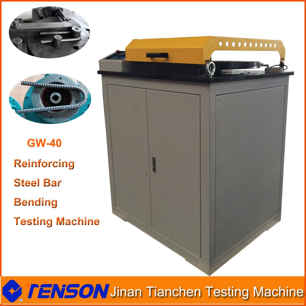 Cheap Bending Testing Machine for Reinforcing Steel Bar Rebend Testing GW-40