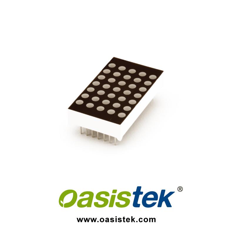 LED Display, Dot Matrix Display, Alphanumeric, TOM_1057