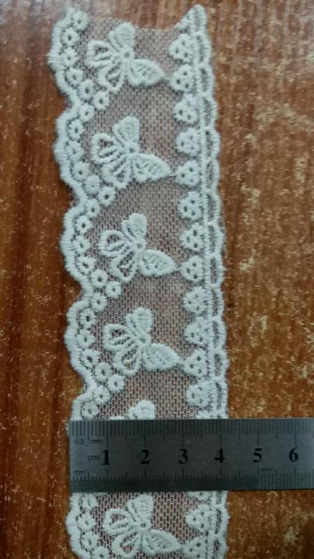 lace trim for lady's garment/girl's garment/sleeve lace