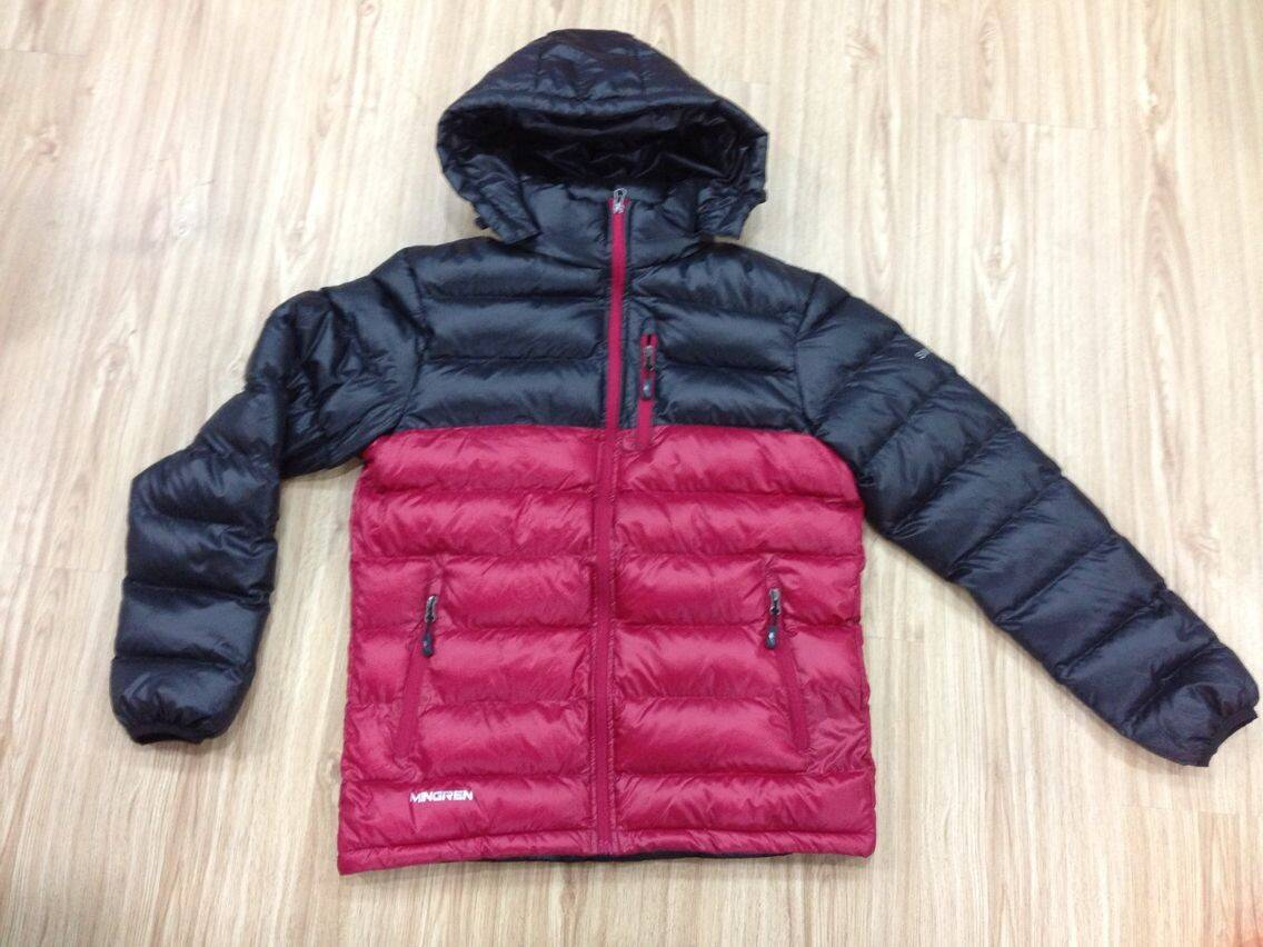LM006 men'simitation down jacket