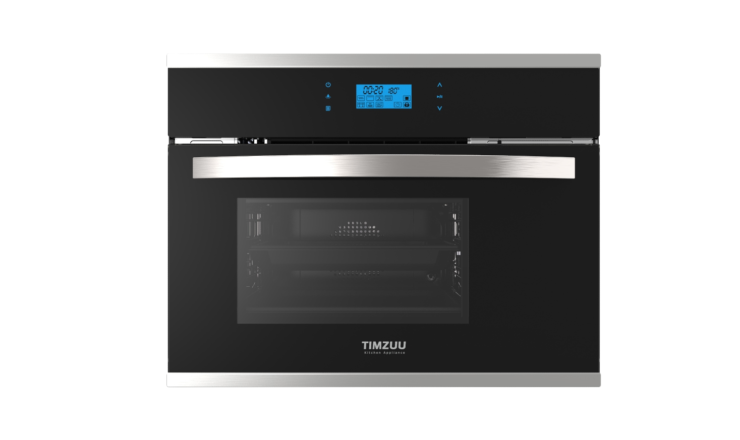 28L touch screen built-in electric steam ovens