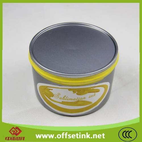 Sublimation Offset Ink for Heat Transfer Offset Printing