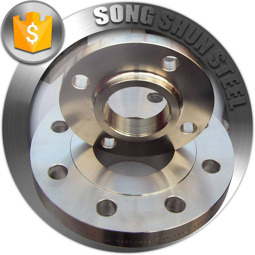 Forged Bright stainless steel flange pn16