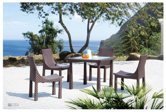 HM-1014 outdoor table and chair