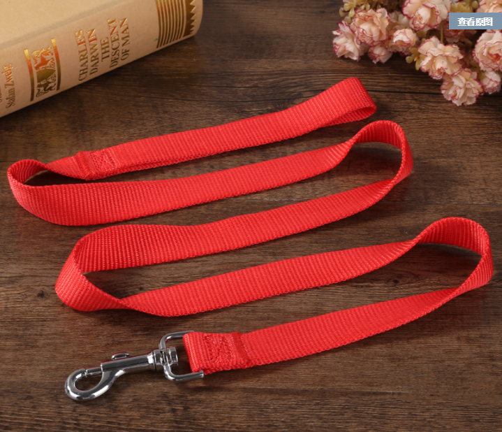 Pet dog leash with regular handle