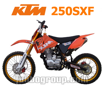 Pit Bike 250cc KTM 250SXF Pitbike with Air-Cell Suspension