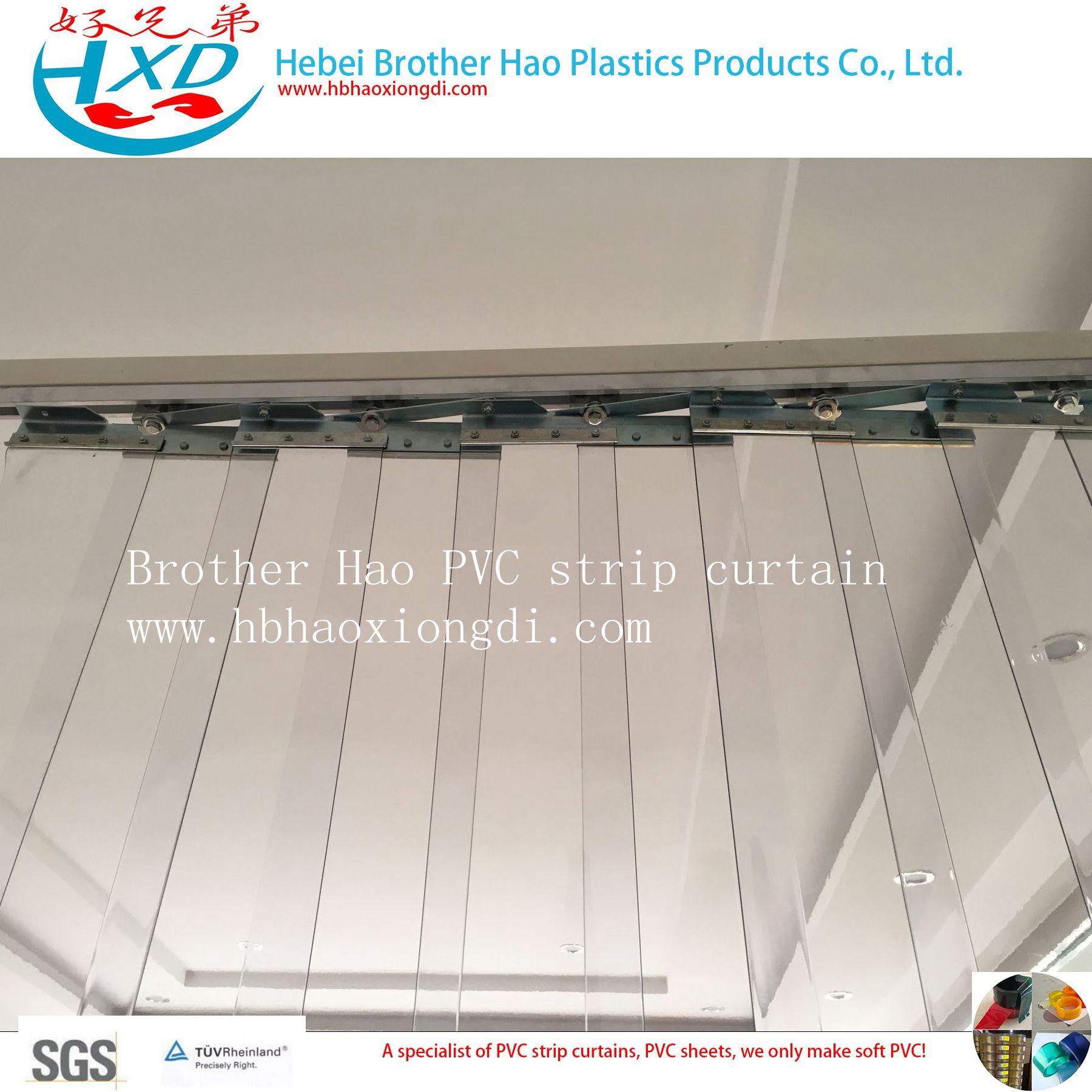 Noise Control Vinyl Plastic PVC Curtain Strip Rolls