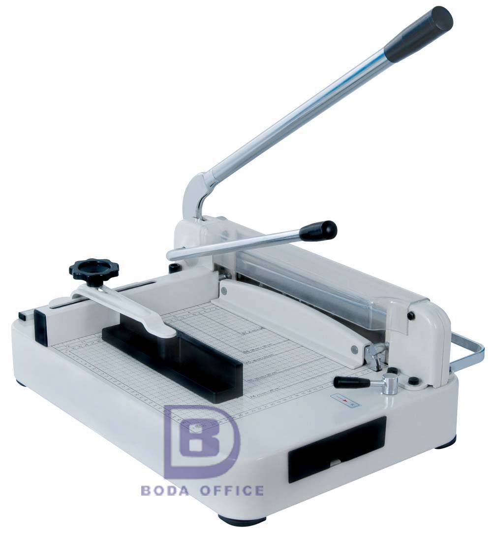 Heavy-duty manual guillotine paper cutter BD-868