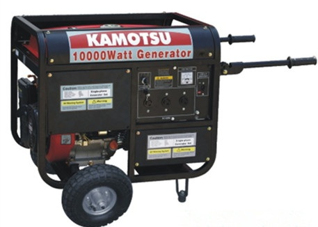 8.5KVA Gasoline generator whith electric start and three phase with high quality