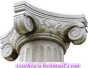 Various Classic Roman Column Caps from Chinese Manufacturer