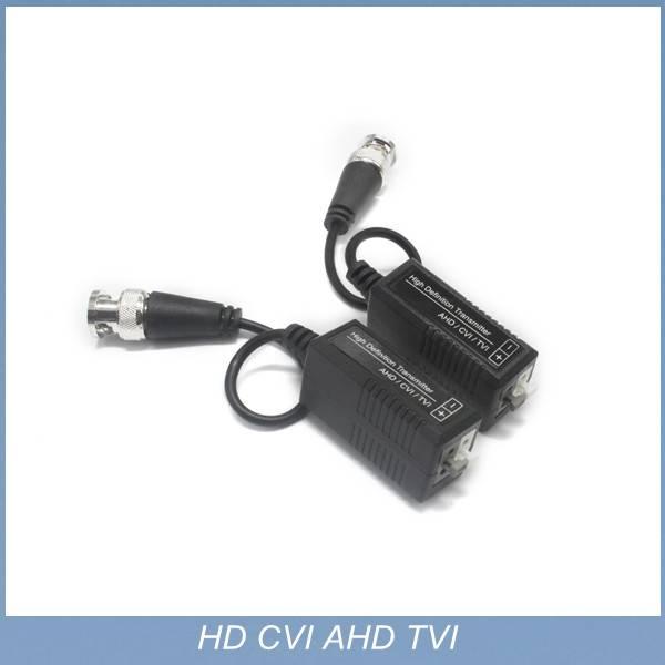 20P 1080P CCTV UTP AHD Video Balun cat5 with BNC Connector balun transceiver for camera