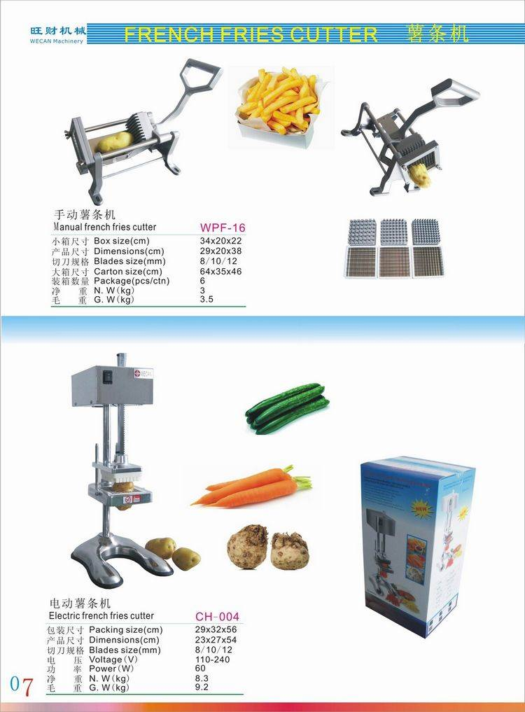 electric potato chips making machine/automatic french fry cutter for sale/potato chopper cutter