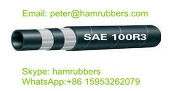 SAE 100R3 Textile Braid Hydraulic Hose