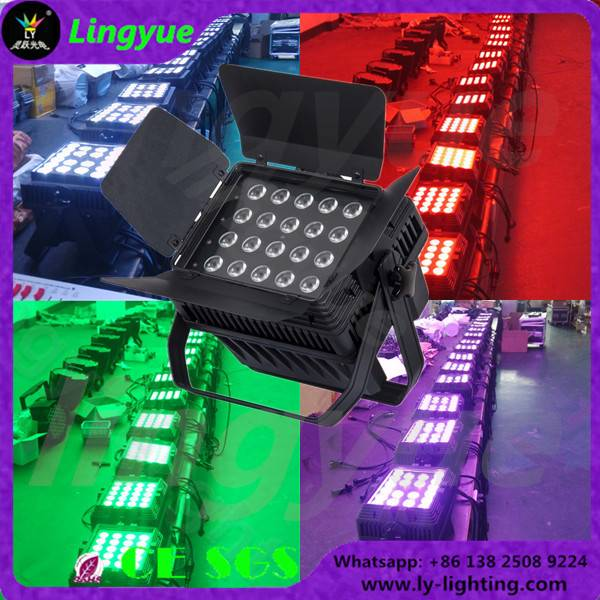 20X15W rgbwa 5in1 outdoor dmx led par 64