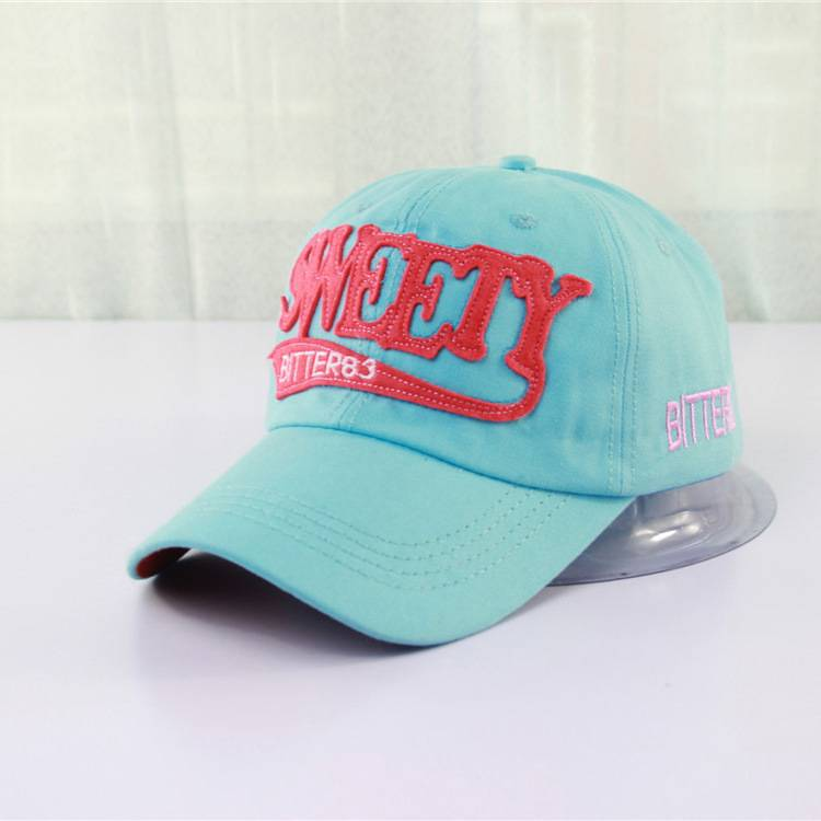 Good quality unisexy custom baseball cap for adult and children wholesale