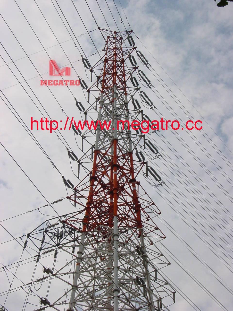 EHV  Transmission Line Steel Tower