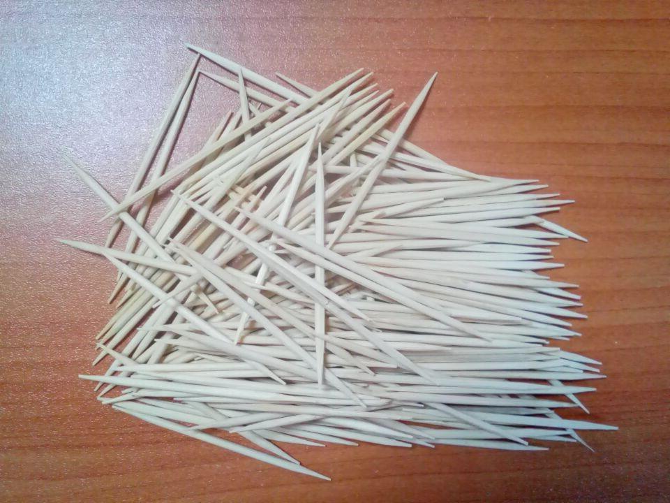 Bamboo toothpick