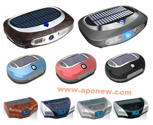 Solar car ventilator / Solar car air purifier / Solar air purifier / Solar car oxygen bar
