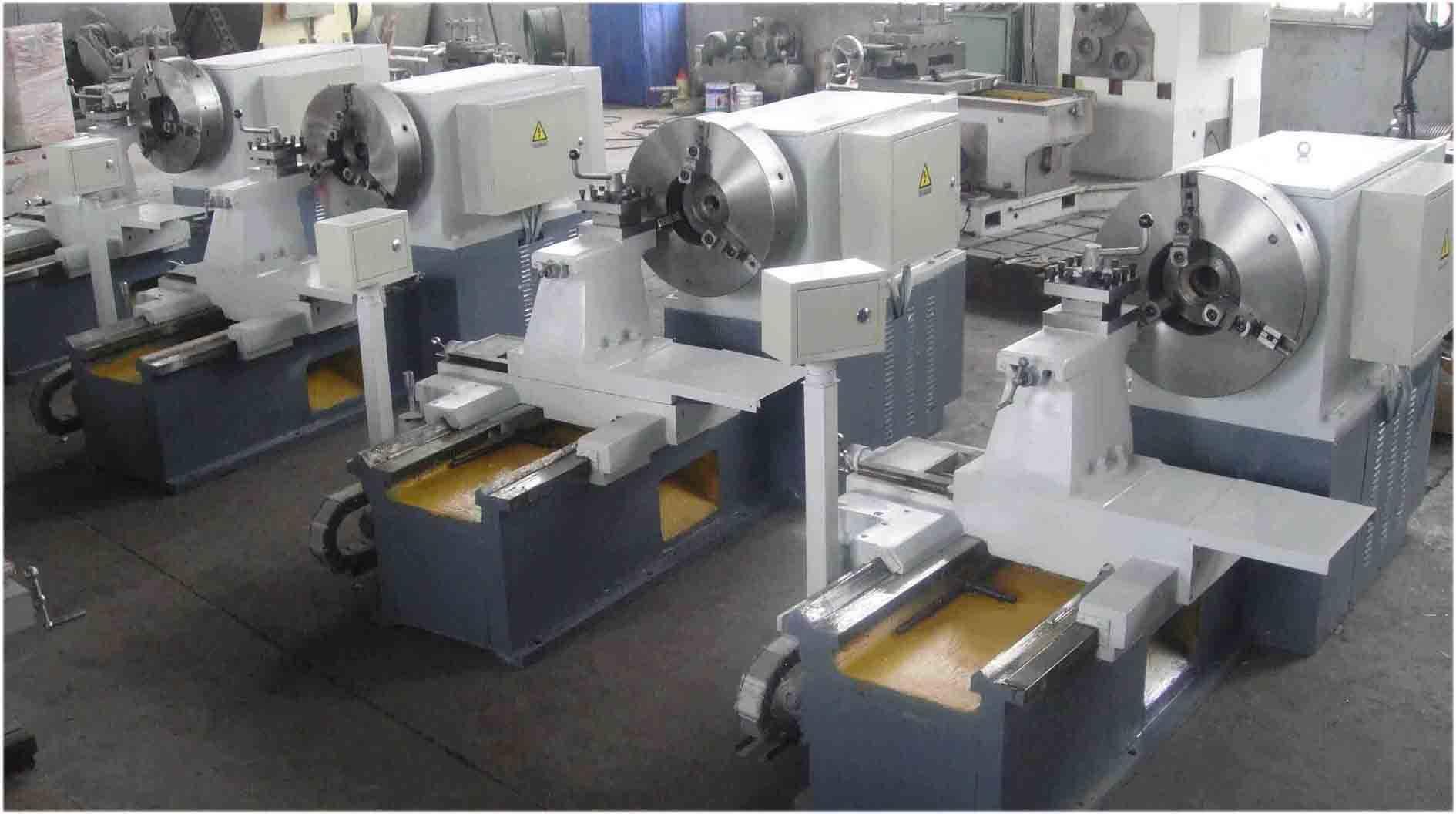 Low Price! China Flange Plate Ring Disc Type Rotatioinal Metal Parts Horizontal Lathe Machine