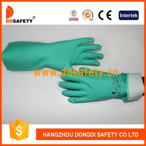 Green nitrile glove-DHL445