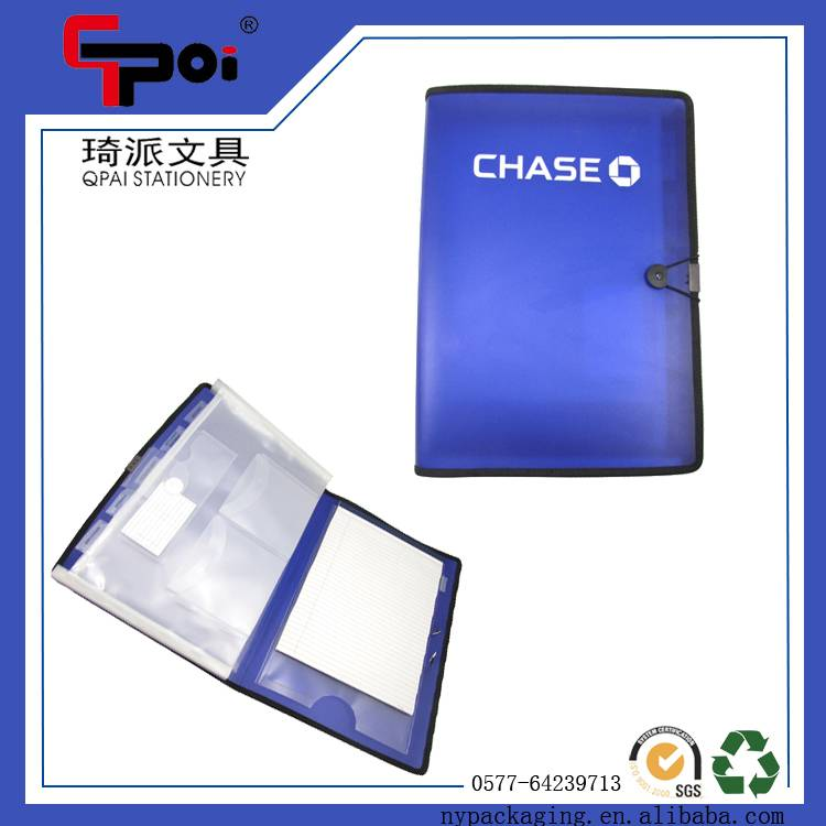 Stationery Supplier A4 PP ECO-Friendly File bag foldable Expanding File Folder