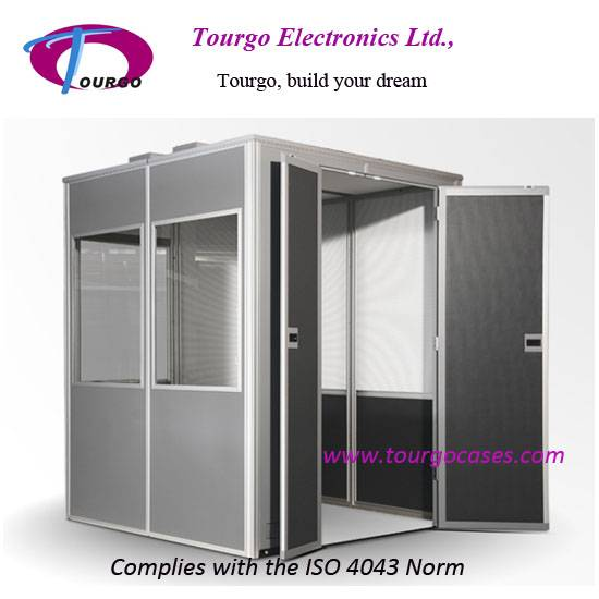 Interpretation Booths, Mobile Interpreter Booth--Tourgo