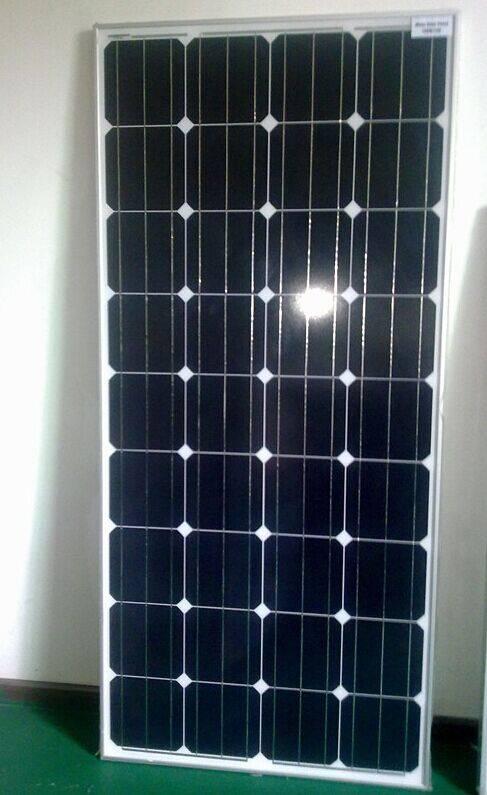 120W / 130W / 135W / 140W  monocrystalline silicon solar panel