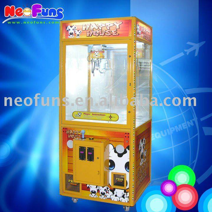 happy house crane machine