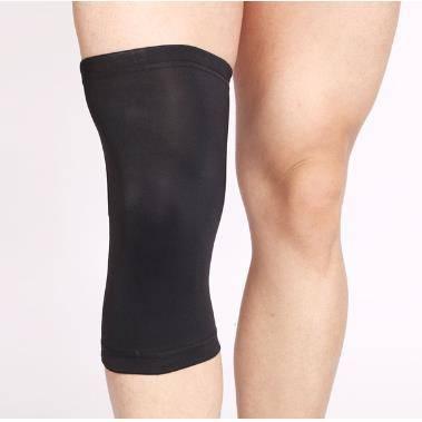 Copper Nylon Compression Knee Brace Sleeve