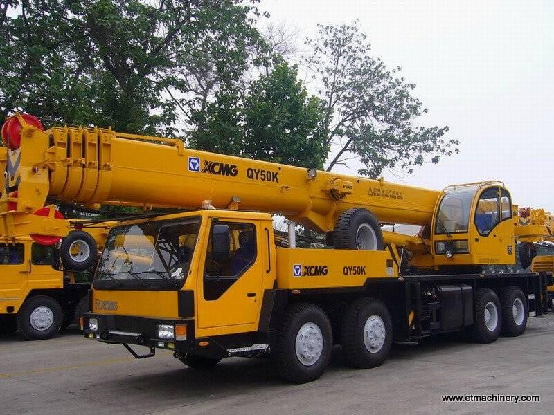 truck crane QY50K