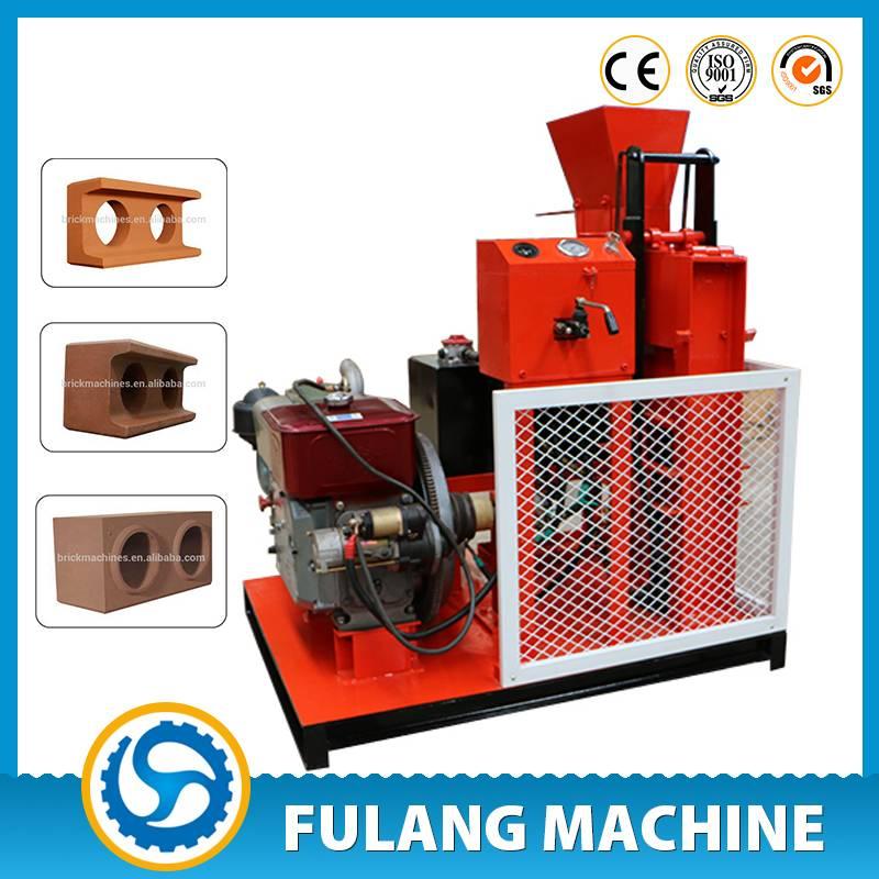 FL1-25 Hydraulic Clay Interlocking Brick Machine