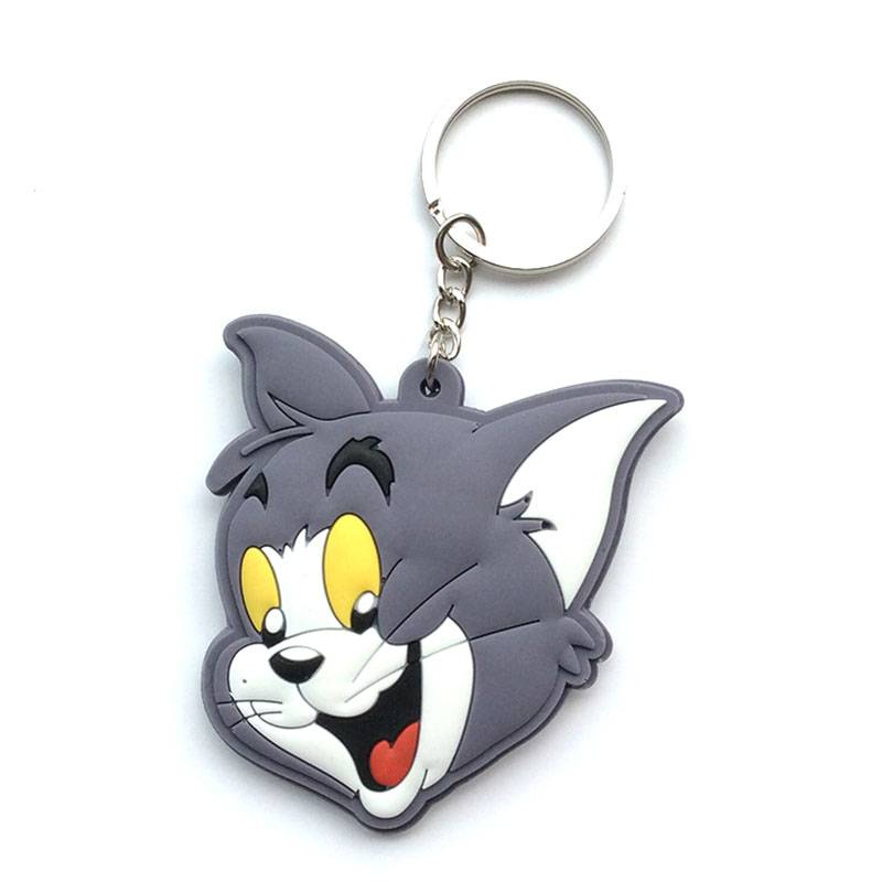 Disney key chain with TOM head