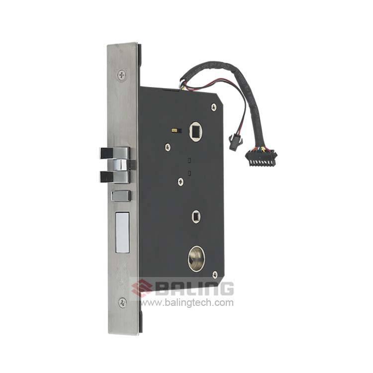Five Latch Bolt Lock Body America Standard Lock Case