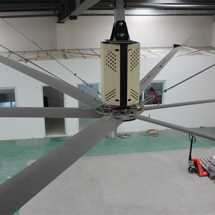 16ft VFD Speed Control China Alibaba Supplier Air Cooling Fan Type Industrial Ceiling Fan