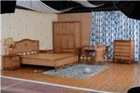 Luxury Bedroom Rattan Bed