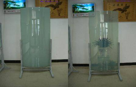 curve smart glass, privacy glass,laminated glass