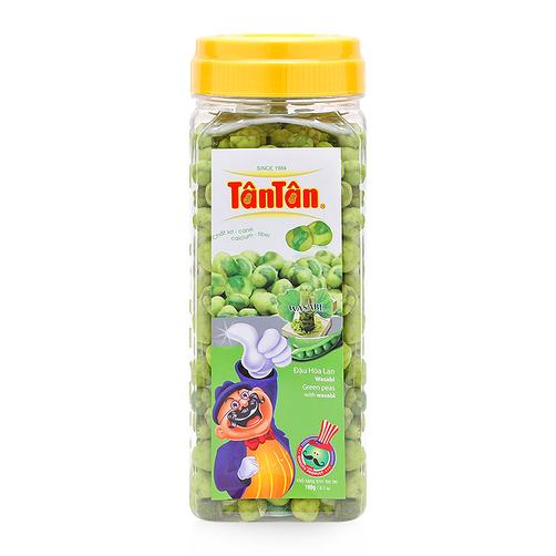 Crispy GREEN PEAS Bean SALT Coconut Milk snack coated covered wrapped (Tan Tan Jolie 84983587558)