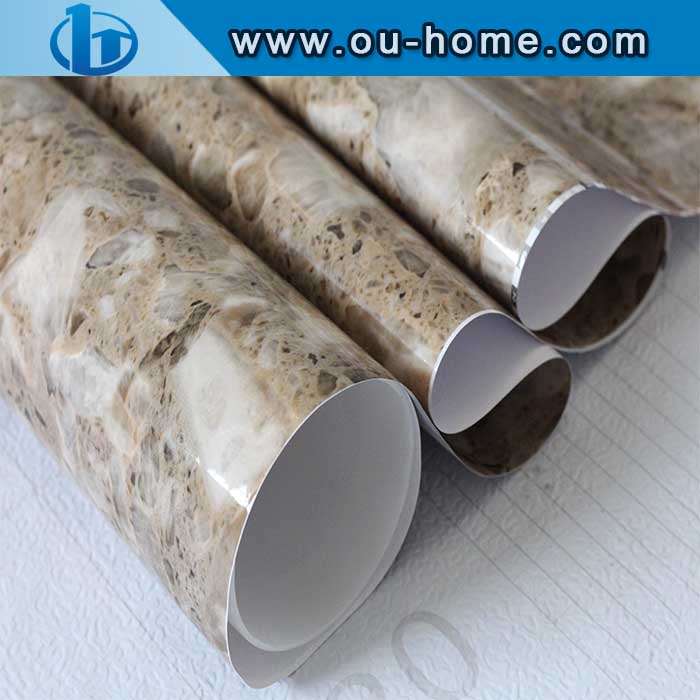 Modern Household Marble Design Lamination PVC Film